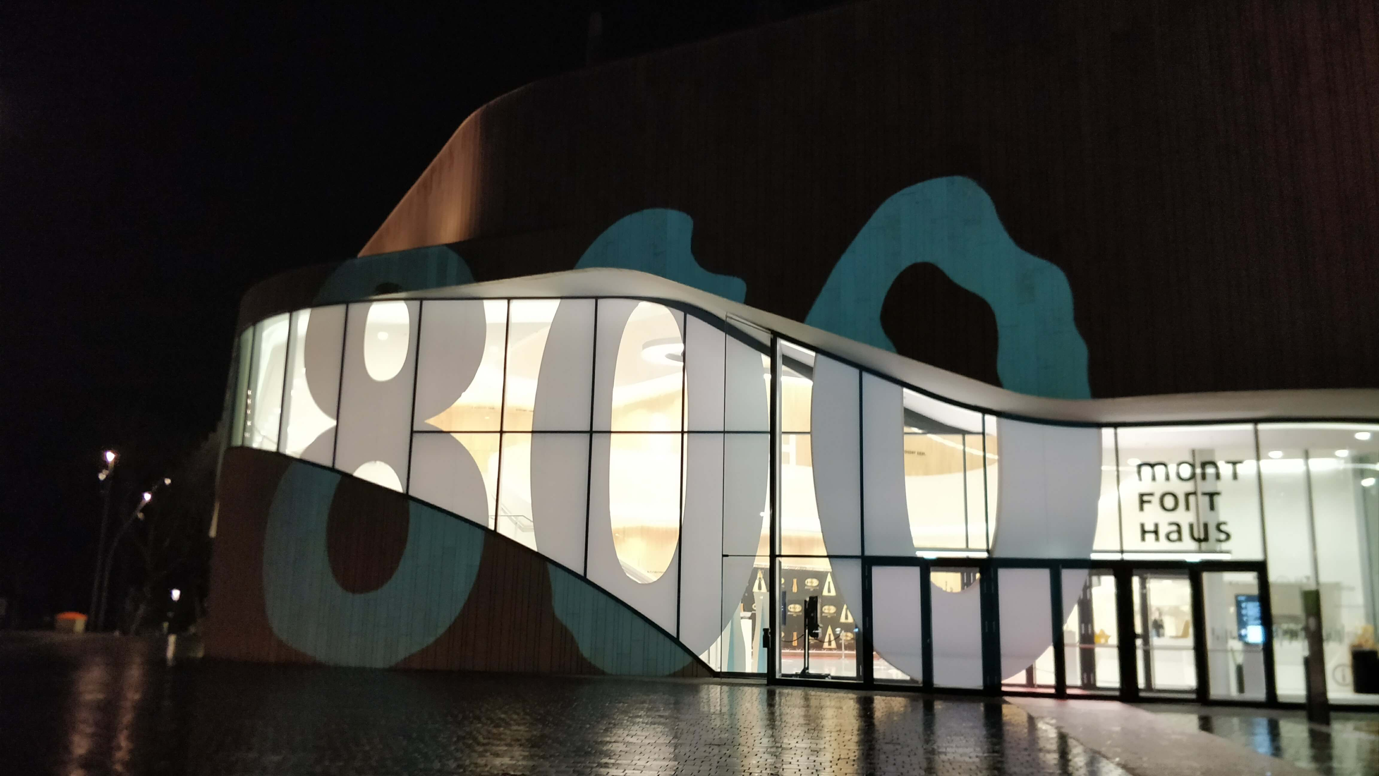 Facade Lighting - Building Video Mapping Projection